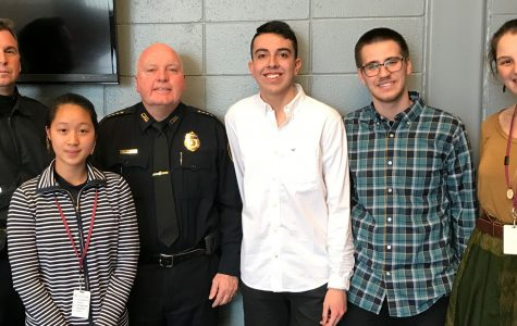 LHS students meet with Police Superintendent