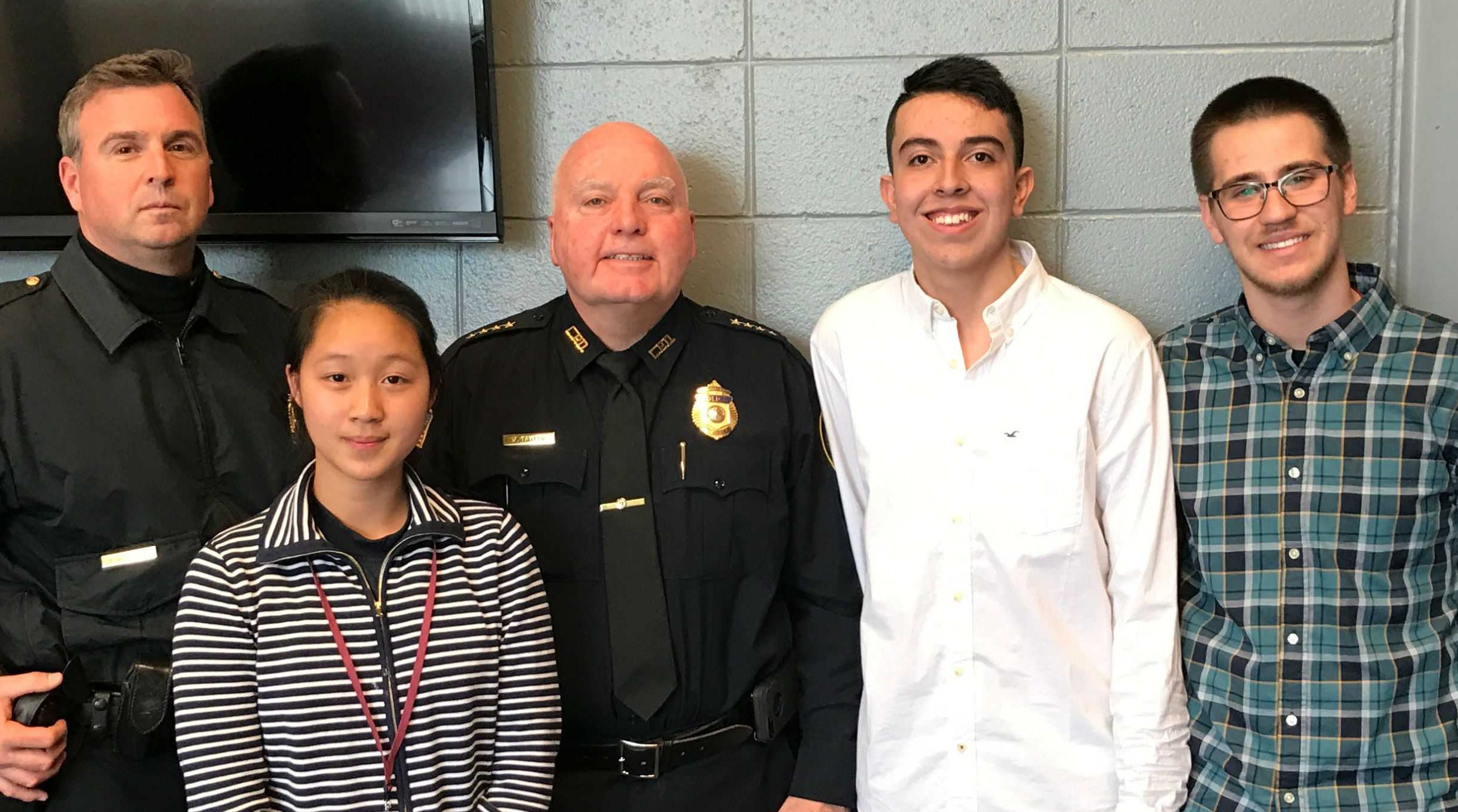 LHS students worked with police and community partners to get unwanted guns off the streets in the City.