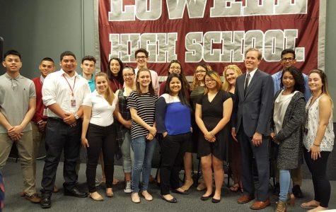 LHS renewable energy forum celebrates pilot project
