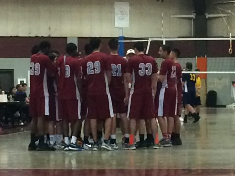 Boys' Volleyball Past Greater Lowell