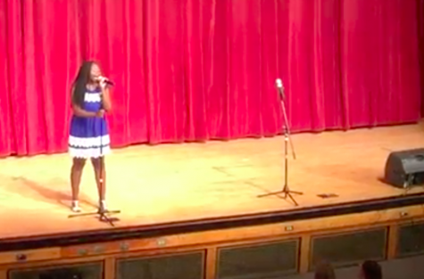 LHS student Mwangi moves audience with senior solo