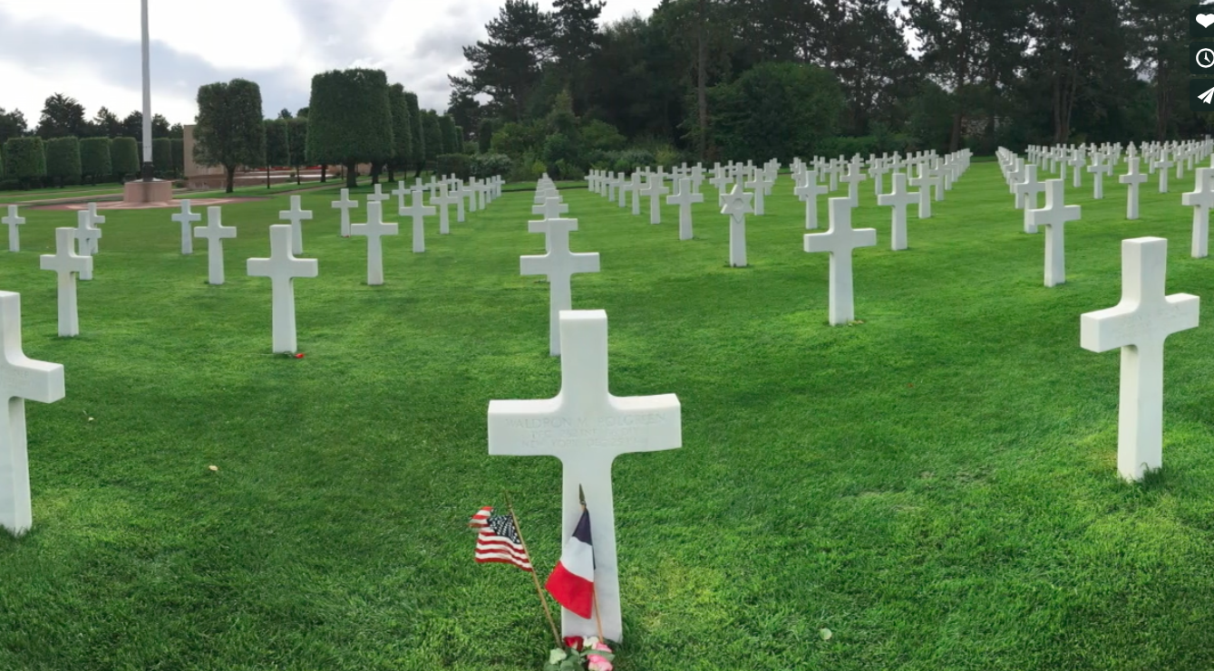 An LHS student visits Normandy to understand the sacrifice of America's greatest generation.