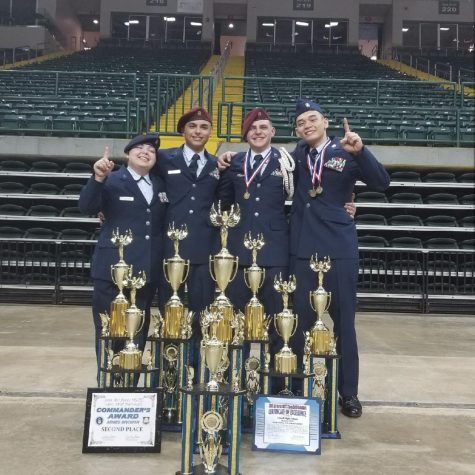 The Red Raiders are the 2018 AFJROTC National Champions