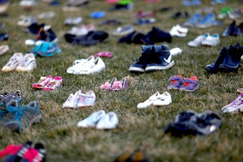 7000 Shoes On The Capitol lawn